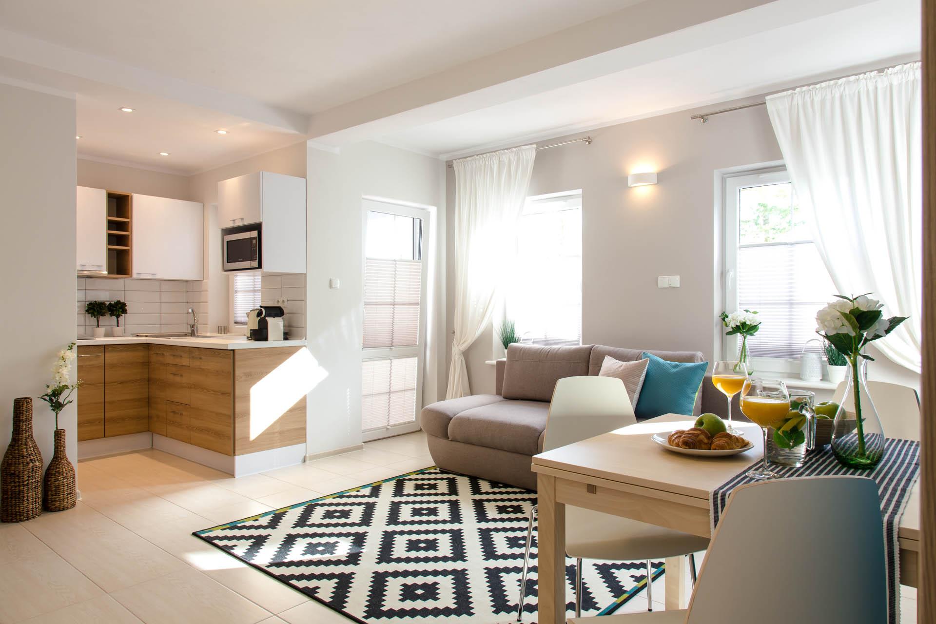 Apartament Zachodni - Rowy - Apartamenty Plażowe