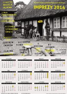 Kalendarz Imprez - Swołowo 2014