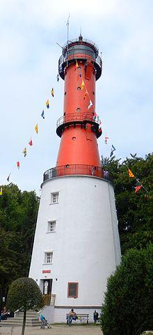 Nowa latarnia morska Rozewie