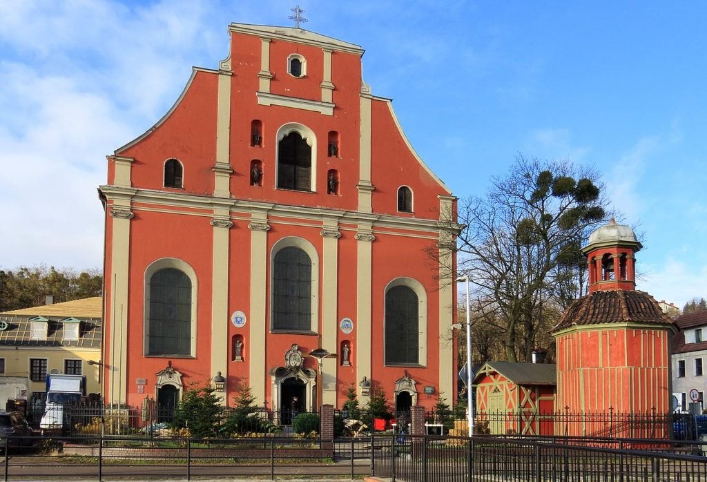 Gdańsk Orunia - Kościół Św. Ignacego Loyoli