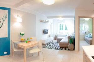 Salon - Apartament Północny - Rowy - Apartamenty Plażowe